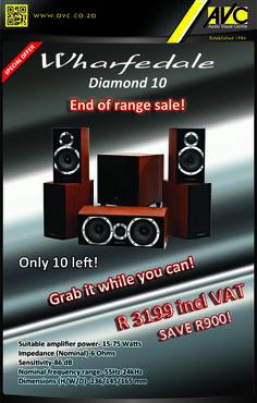 Wharfedale Diamond 10 Clearance Sale!!!!