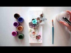"Elena Morgun canvas ""Best of times"" tutorial for Blue Fern Studios+ - YouTube"