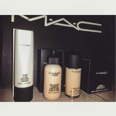 MAC ❤ Strobe cream Face&Body Studio fix Mineralize Foundation