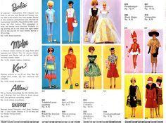 Barbie folder 1965, Brio in swedish