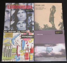 Online veilinghuis Catawiki: Lemonheads / Pearl Jam / Mudhoney / Modest Mouse: Great lot of 4 GRUNGE/(ALT) ROCK-albums (5LP's) + 1x bonus 7inch single. Including 2 limited editions of which 1 is on coloured vinyl!