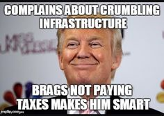 """Sanders said. """"But the plan Trump offers is a scam that gives massive tax breaks to large companies and billionaires on Wall Street who are already doing phenomenally well. Trump would allow corporations that have stashed their profits overseas to pay just a fraction of what the companies owe in federal taxes. And then he would allow the companies to """"invest"""" in infrastructure projects in exchange for even more tax breaks."""""""