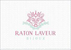 Logo for sale by Melanie D: Regal royal logo design of a stylized line drawn…