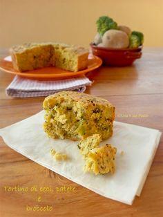 Tortino di ceci con patate e broccolo - Una V nel piatto - Ricette Vegane e Mondo Vegan