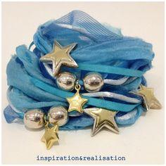 DIY wrapped bracelet