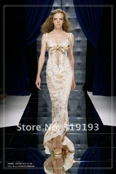 Zuhair Murad Couture Sheath Champagne Satin Sweetheart Straps Appliques Lace Gorgeous Fashion Floor Length Evening Dress on AliExpress.com. $299.99