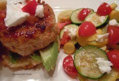 Gourmet Girl Cooks: Mexican Turkey Sliders (or Burgers) Paleo Recipes, Low Carb Recipes, Real Food Recipes, Taco Seasoning Ingredients, Turkey Sliders, Beef Fajitas, Yellow Squash And Zucchini, Girl Cooking, Fresh Salsa