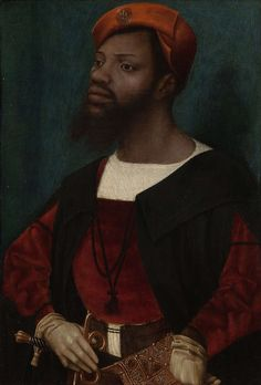 It's always interesting to see Black people from another time period. 'Portrait of an African man' by Dutch Renaissance painter Jan Mostaert collection: Rijksmuseum. via codart European History, Black History, Art History, African Men, African American History, Goldscheider, Landsknecht, Late Middle Ages, African Diaspora