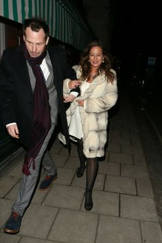 Mick Jagger's daughter (jade jagger) + Keith Richards' son ~ (marlon richards) Leaves the Dior Party