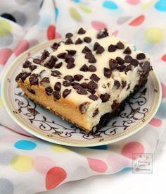 Manila Spoon: Chocolate Chip Cheesecake Bars
