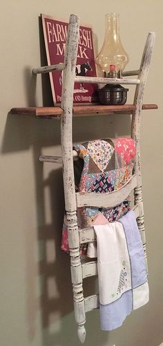 "Repurposed old chair ideas can vary quite a bit; in fact, they can be made into anything from a benchRead More Exciting Repurposed Old Chair Ideas You Can Make in a Day"" Furniture Projects, Furniture Makeover, Home Projects, House Furniture, Office Furniture, Old Chairs, Vintage Chairs, Rattan Chairs, Metal Chairs"