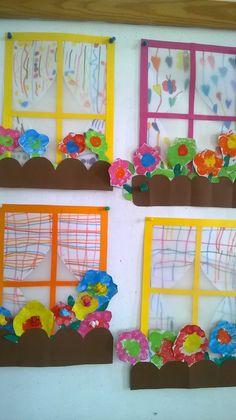 janelas floridas