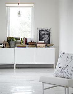 white, simple.