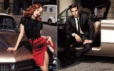 Retro Street Glam with Guess Campaign 2009