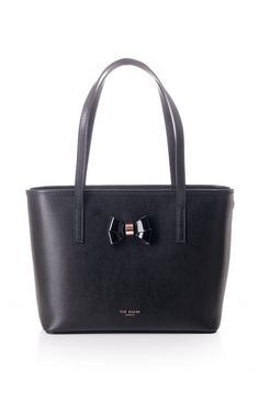 c1cde8e63f48d2 Ted Baker Womens Accessories Ted Baker Womens Accessories Ritaa Cross Hatch  Small Shopper Black - Ted Baker Womens Accessories from Blueberries UK