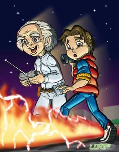 Doc and Marty BTTF 1