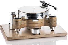 Round Solid Wood MPX turntable