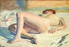 watercolor nude...Roger Hayward