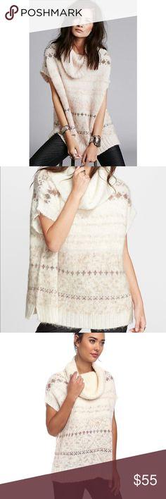 Free People Alpaca Fairisle Tunic Sweater, $248.00 | Free people ...