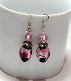 Hey, I found this really awesome Etsy listing at https://www.etsy.com/listing/218613983/glass-bead-drop-earrings-lamp-work-with