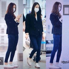 160510 Soojung At Incheon Airport Heading To Wenzhou For 'Graduation Season'…