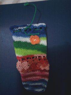 Funda para móvil en crochet