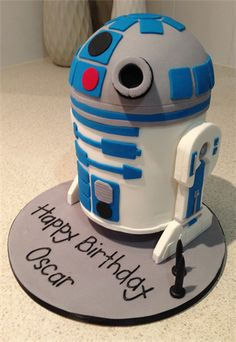 Amanda's Cakes and Invitations - Birthday Cakes r2d2 boy star wars cake