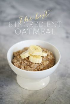 Best Oatmeal Ever