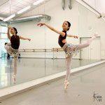 kakakiri-Ballettröcke in Szene gesetzt
