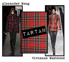 Autumn/Winter 2015 Trend; Tartan by kimearls on Polyvore featuring Alexander Wang and Vivienne Westwood
