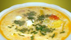 This incredible soup is packed full of nutrition. Not only is it delicious but its healthy for you too. This dish is commonly served to warm up the bones o Peruvian Dishes, Peruvian Cuisine, Peruvian Recipes, Seafood Recipes, Gourmet Recipes, Healthy Recipes, Bolivian Food, Comida Latina, Light Recipes
