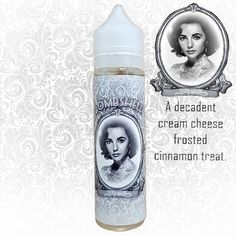 Elizabeth is our first bombshell in our new High Class Premium bombshell vape juice line. Try this eliquid today and experience the best dessert all day vape you ever experienced!