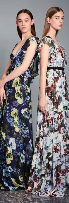 Catwalk photos and all the looks from Erdem - Pre Spring/Summer 2017 Ready-To-Wear London Fashion Week High End Fashion, Live Fashion, Fashion Week, Fashion 2017, Runway Fashion, London Fashion, Boho Fashion, Fashion Show Themes, Fashion Show Collection