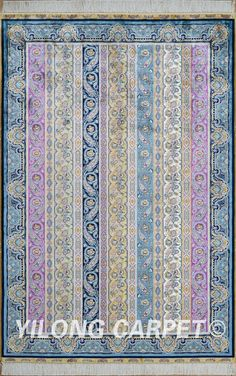 Blue Qom Persian Silk Rugs Handmade Chinese Carpet Materials: Silk Technology: Hand Knotted Size: 2'x3' -14'x20'    Design: Flower, Birds, four season, and hunting  Fit for: bedroom, living room, dining area, hallway, porch, office etc. … Email: alice@yilongcarpet.com  WhatsApp/Tel/Wechat: +86 156 3892 7921 #persianrugsale #persiantreeoflifesilkrugs #persianrugtypes