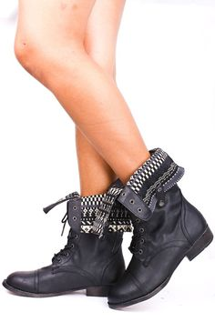 Love these foldover combat boots! I&39ve been looking for a great