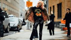 Street Style Photos From Fall 2017 New York Fashion Week