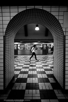 """5. Larousse, Marco. """"Floating on the Checkerboard."""" """"Marco Larousse Photography."""" London Street Photography, 2015. http://www.streetphotographylondon.co.uk/street-photography-london-blog/why-black-and-white-street-photography"""