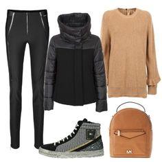 La sneakers non teme il freddo  outfit donna Basic per tutti i giorni  6585cbbc5f3c