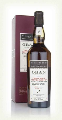 Oban 2000 - Managers Choice