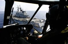 The Italian aircraft carrier Giuseppe Garibaldi usually patrols the…