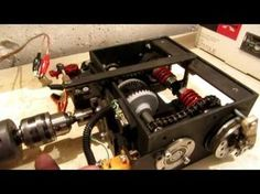 How to build a 2/5 th scale Tank. 4 J - YouTube Tractors, Scale, Youtube, Arduino, Motor Car, Cnc, Gears, Tips, Crafts