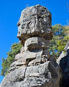 Los totems de Ruidera guardianes eternos de las lagunas  Ruidera Ciudad Real  #Ruidera #ruideratreasures #lagunasderuidera #nature #photography