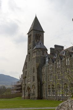 Repair of the Benedictine Abbey at Fort Augustus, now converted