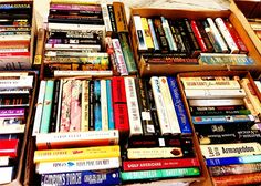 Book Swap parties are a fun way to get your hands on some new reading material - and de-clutter at the same time!