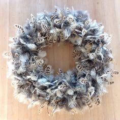 Schitterende krans met echte fazantenveren -Krans Pasen- Deurkrans -Herfst krans -krans 50 cm. - klaar voor verzending door DeKeukenVanHegge op Etsy