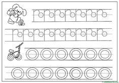 Grafomotricidad para Educación Infantil - Web del maestro Alphabet Tracing Worksheets, Diagram, Words, Blog, Letters Of Alphabet, Gross Motor, Initials, Kids, Ideas