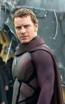 Michael Fassbender as Magneto, just watched Days of Future past and Mr. Fassbender was amazing ....