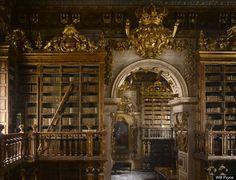 Biblioteca Joanina in Coimbra, Portugal.