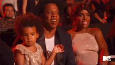 Blue Ivy Carter and Jay Z Watch Beyonce VMA Performance, Crush Divorce Rumors Forever