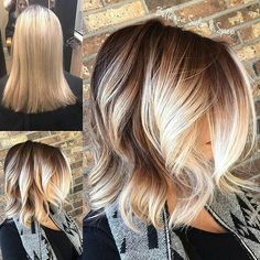 Brown to blonde balayage with chunky blonde pieces framing the face. when i see all these fall hair colors for brown blonde balayage carmel hairstyles. Hair Color Balayage, Hair Highlights, Color Highlights, Brown Balayage, Short Balayage, Blonde Color, Caramel Highlights, Bayalage, Platinum Highlights